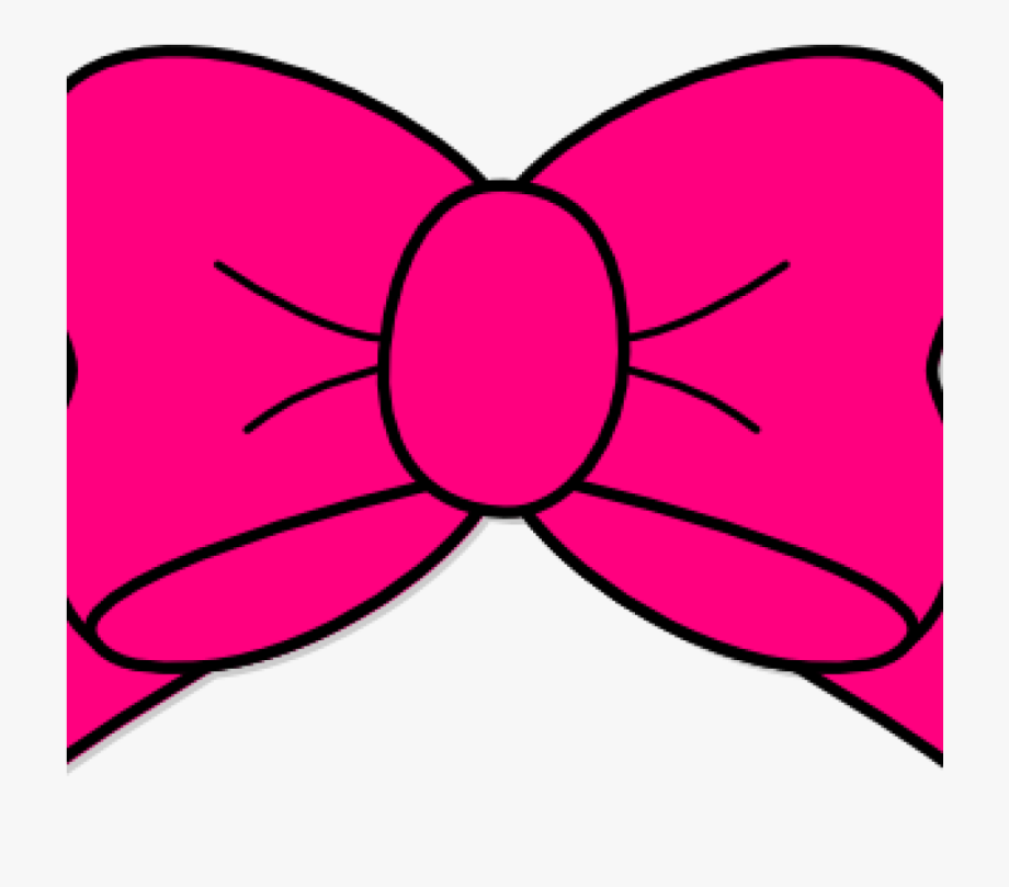 Pink Bow Clipart Hot Pink Bow Clip Art At Clker Vector.