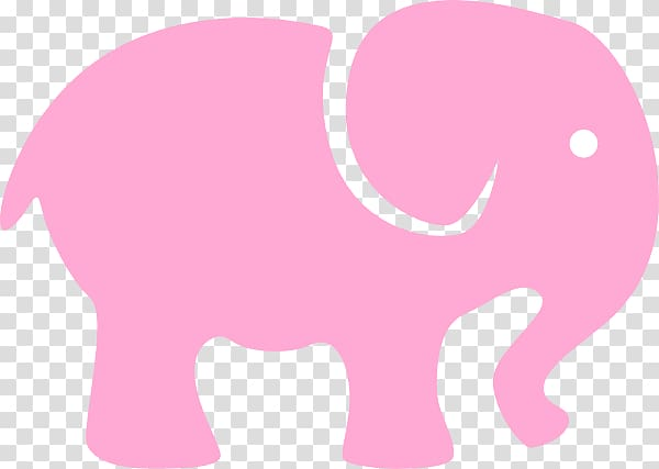 Seeing pink elephants , Of Pink Elephants transparent.
