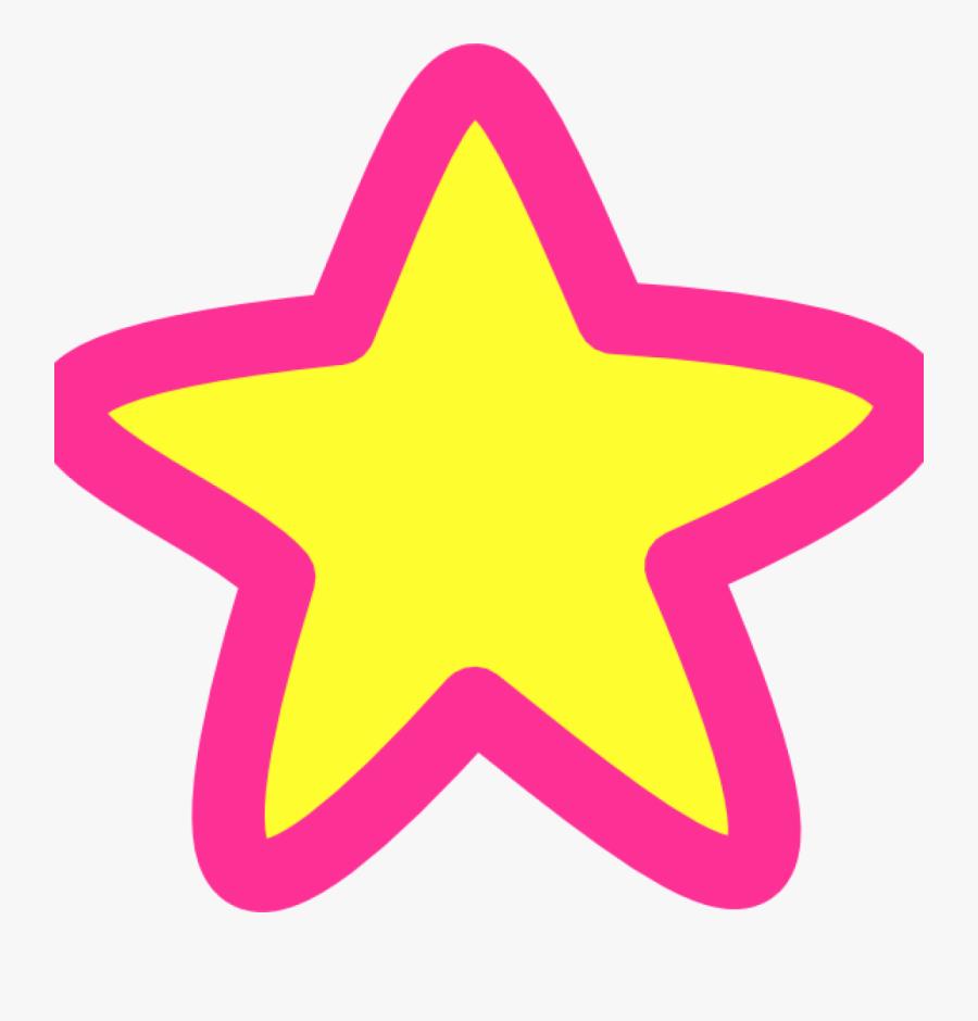 Transparent Pink Star Png.
