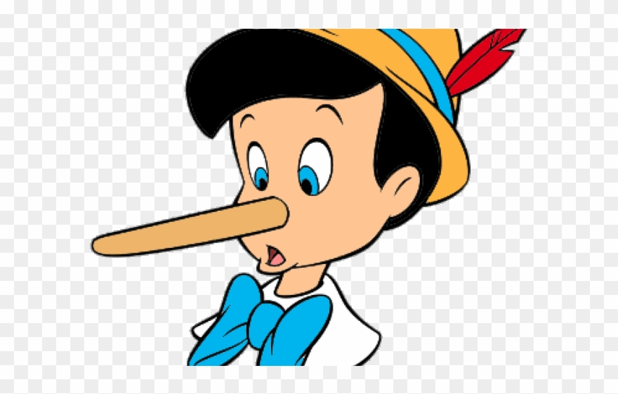 Lies Clipart Pinocchio Nose.