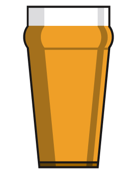 Pint of beer clipart » Clipart Station.