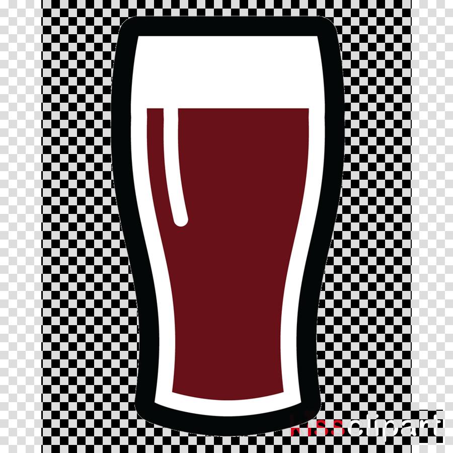 pint glass line drinkware tableware logo clipart.