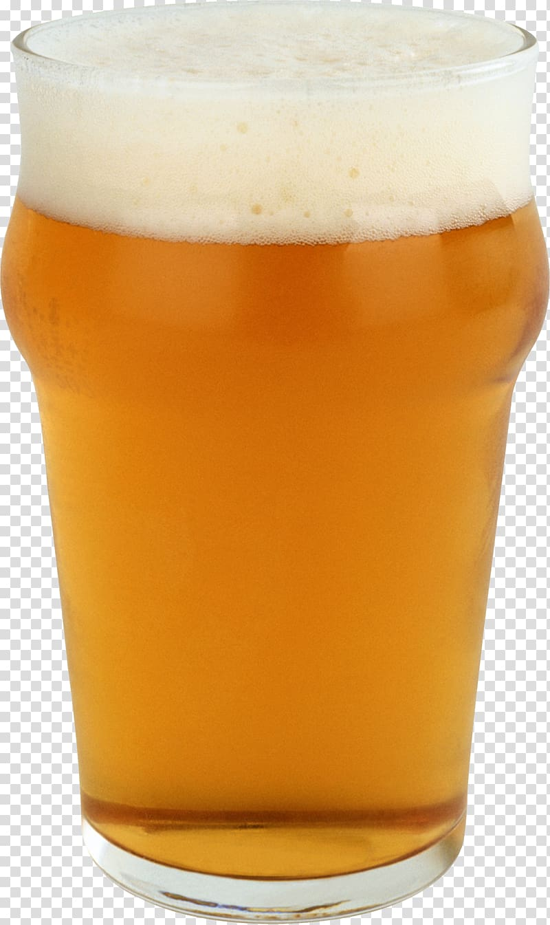 Beer glassware Boilermaker Pint glass, Beer transparent background.