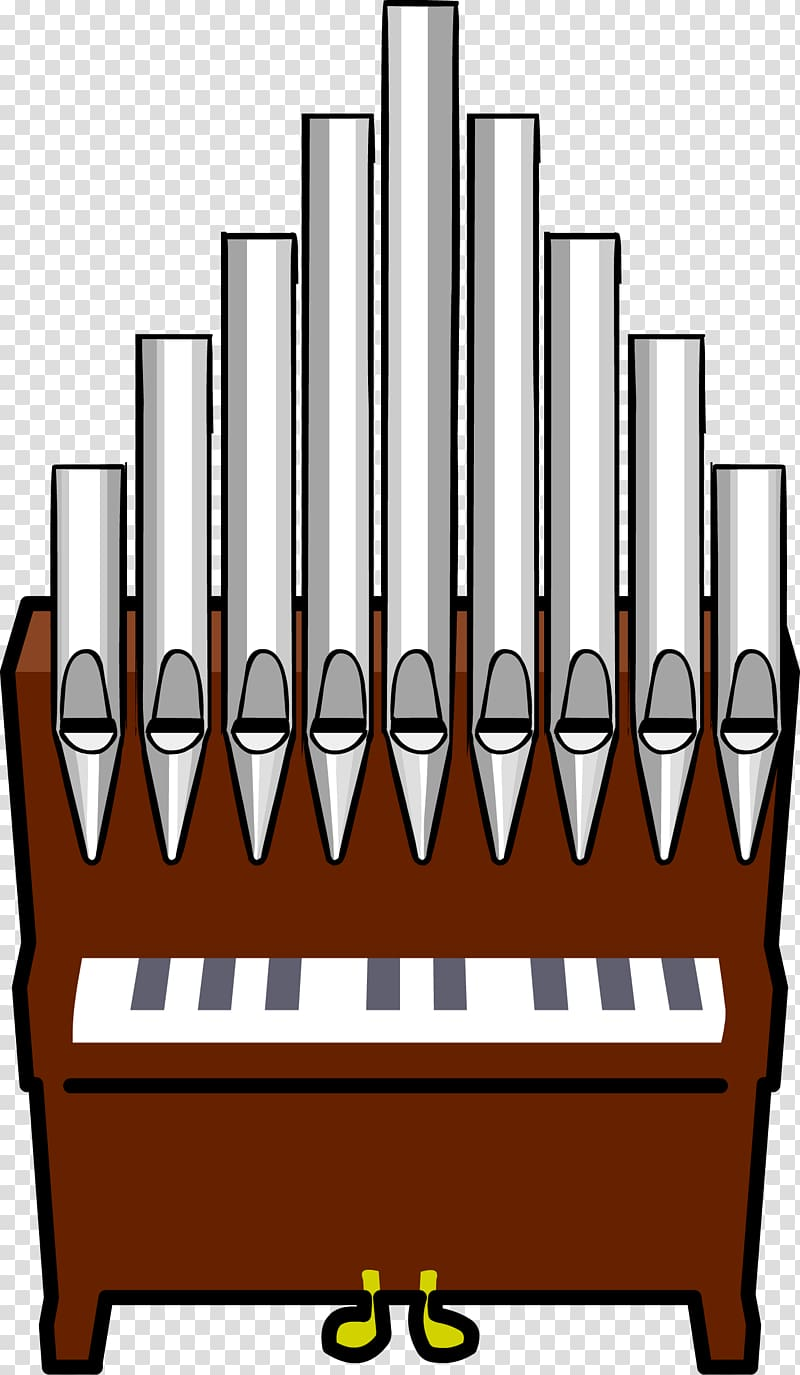 Pipe organ Organist , Organ Pipes transparent background PNG.