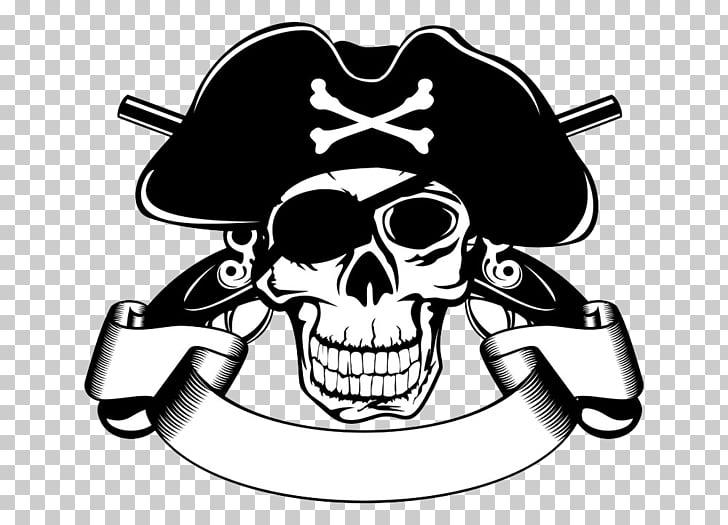 Piracy Skull Stock illustration , Pirate Skull PNG clipart.