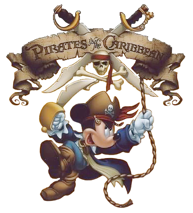 Caribbean Pirate Mickey.