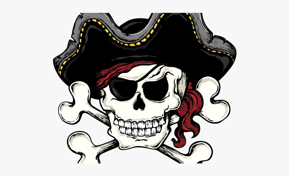Pirates Of The Caribbean Clipart Skull.