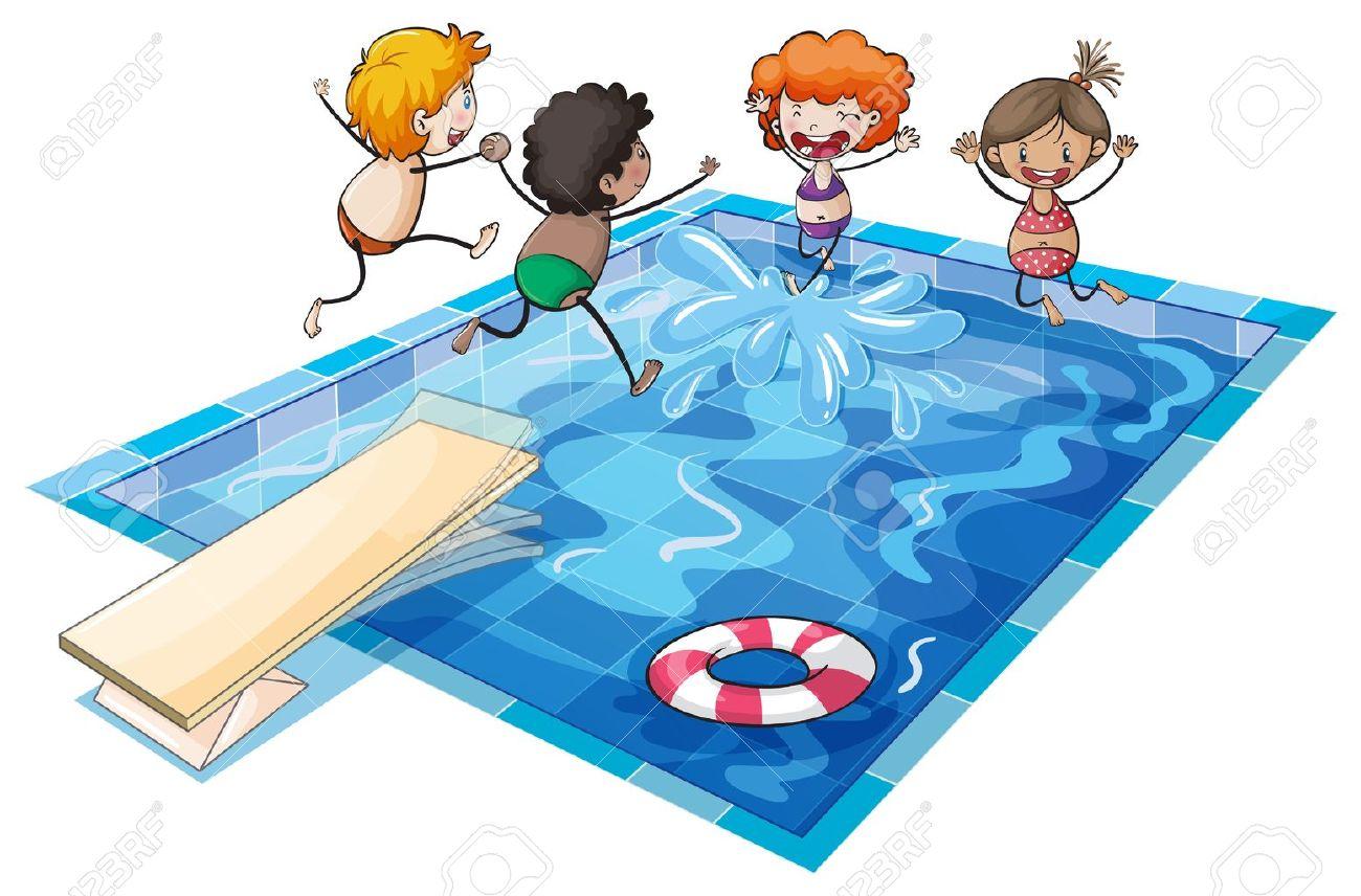 Enfant piscine clipart 12 » Clipart Station.