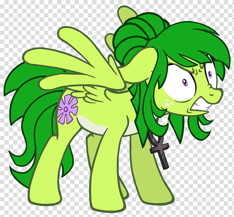 Pony Midori Pissed transparent background PNG clipart.