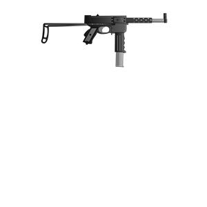 Pistolet mitrailleur MAT49 clipart, cliparts of Pistolet.