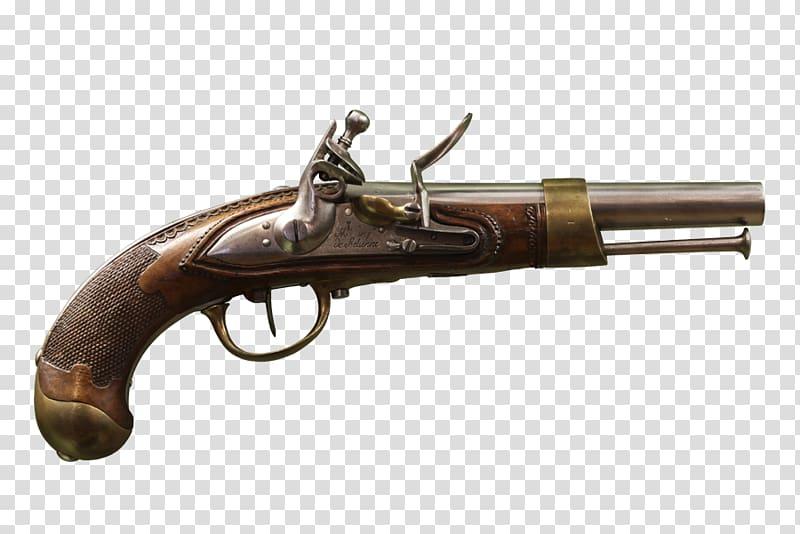 Pistolet d\\\'arçon Weapon Flintlock Pistolet modèle An XIII.