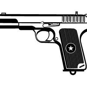Téléchargement Du Vecteur Gratuit : Pistolet Vector Clipart.