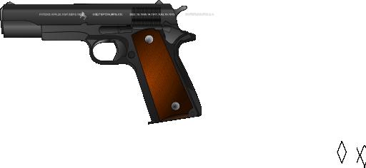 Pistolet Clipart.