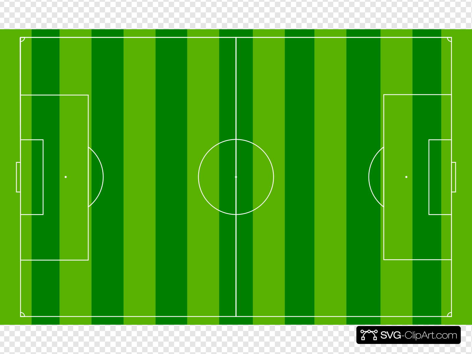 Football Pitch Clip art, Icon and SVG.