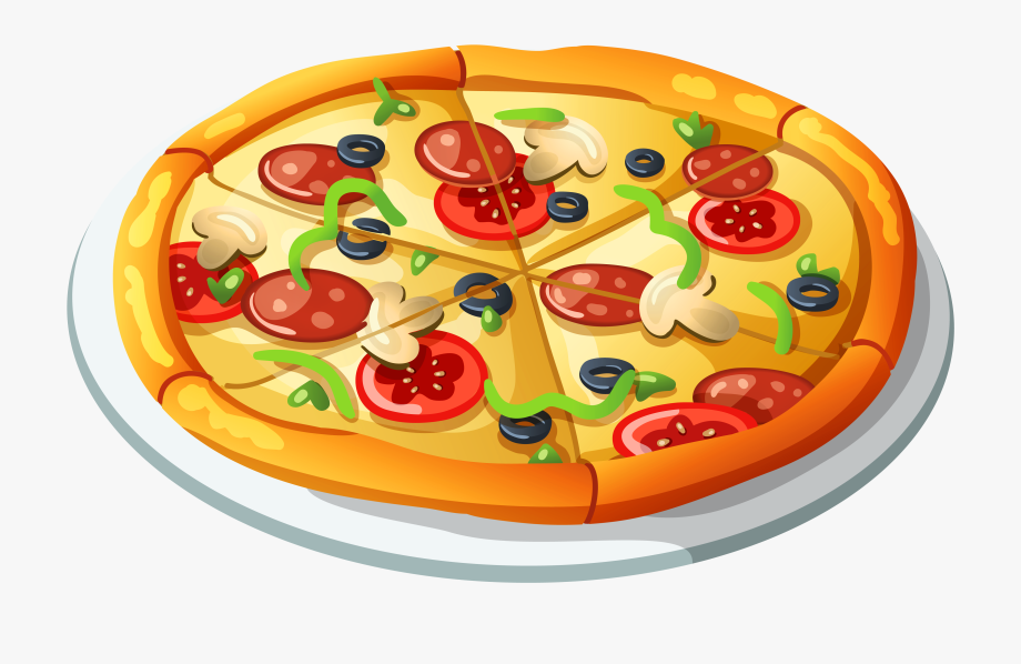 Pizza Vector Clipart.