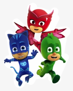 Free Pj Masks Clip Art with No Background.