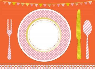paper placemat.