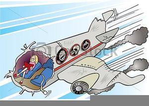Plane Crash Clipart.