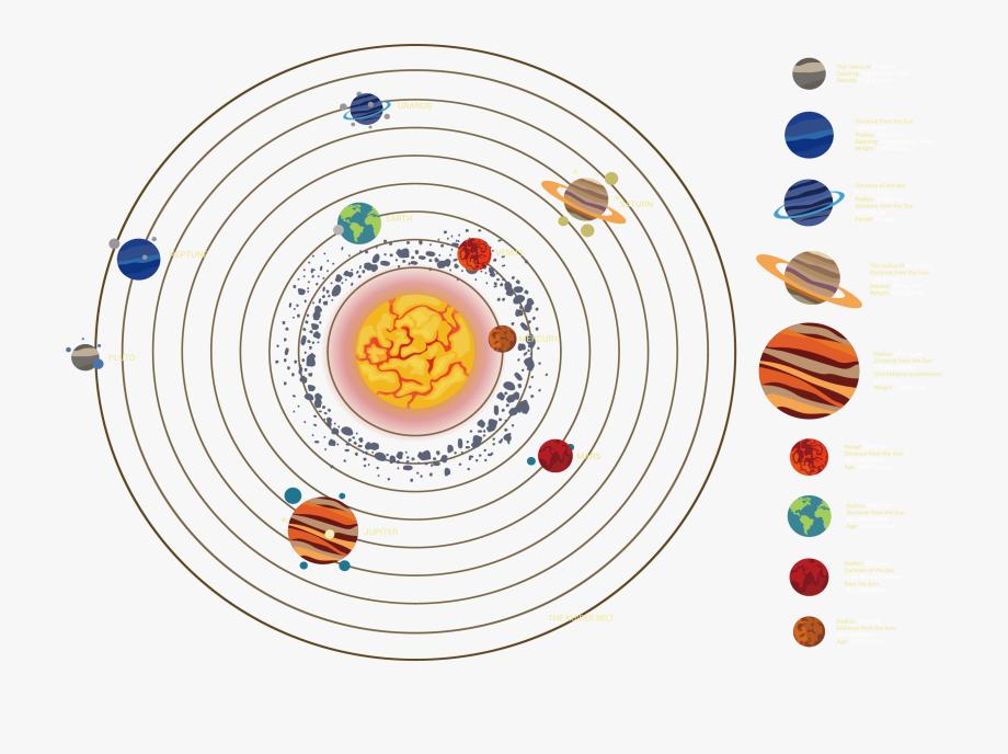 Clip Art Solar System Icon Transprent.