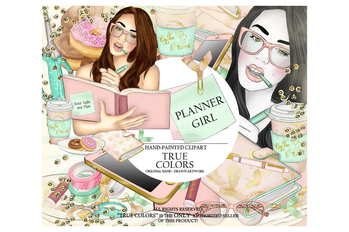 Planner Girl Clip ArtPlanner Girl Clipartplanner girl.