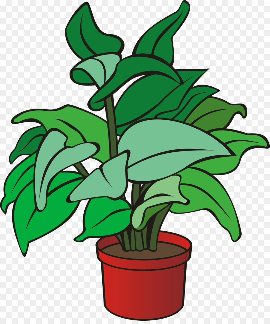 Pot Leaf Cartoon clipart.