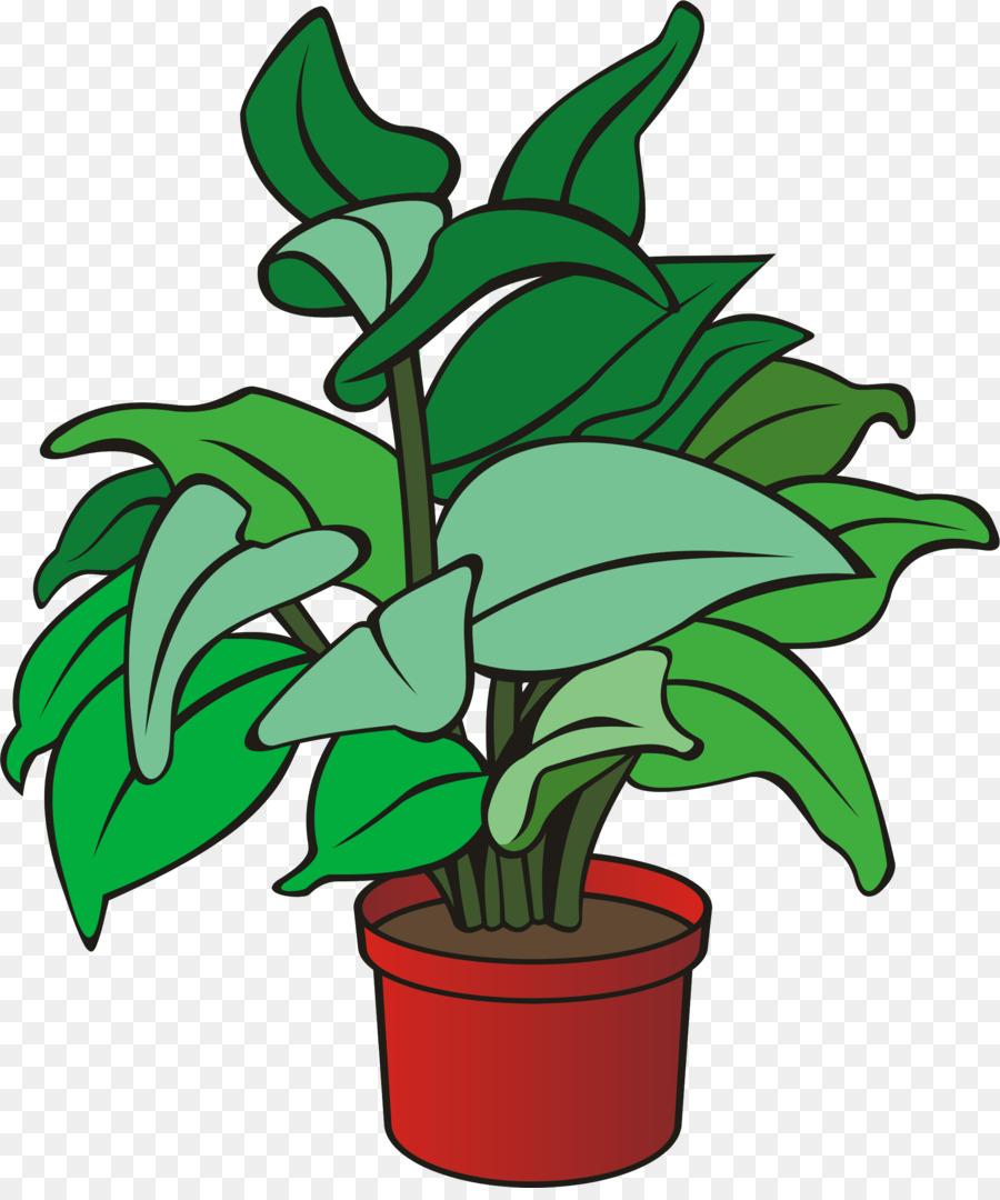 Pot Leaf Cartoon clipart.