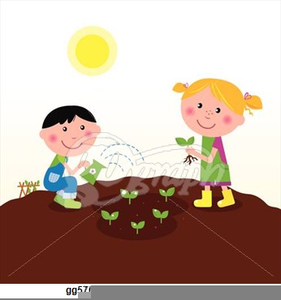 Free Clipart Of Planting Seeds.