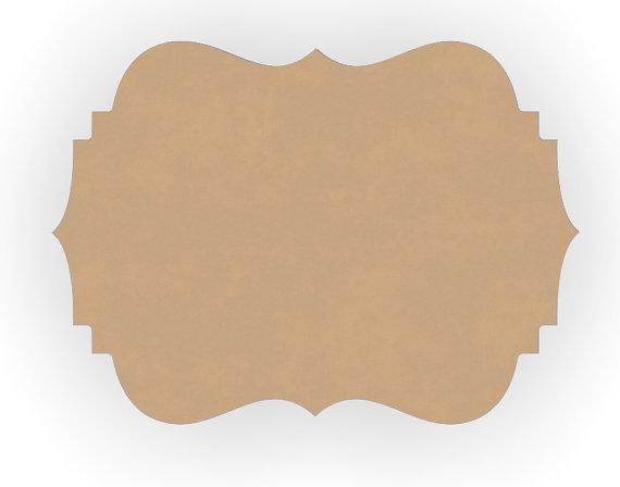 Plaque Clipart.