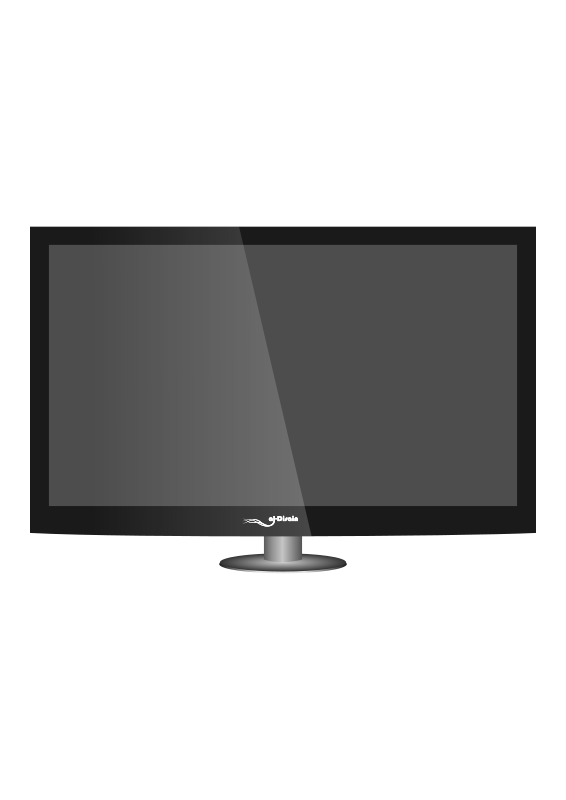 Free Clipart: Just another Plasma TV.