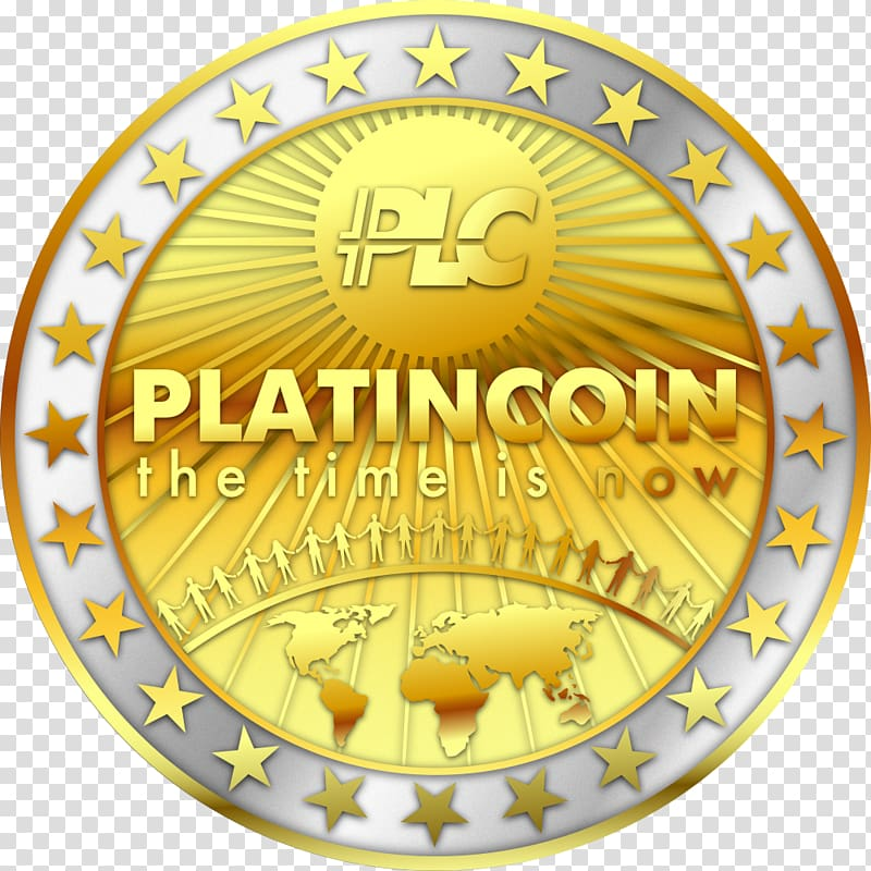 Platinum coin Cryptocurrency Platincoin team italy, Coin.