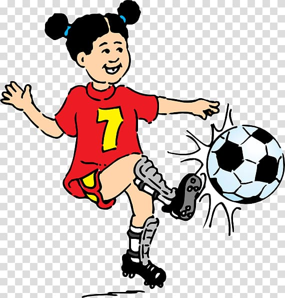 Football Play , Children Playing Football transparent background PNG.