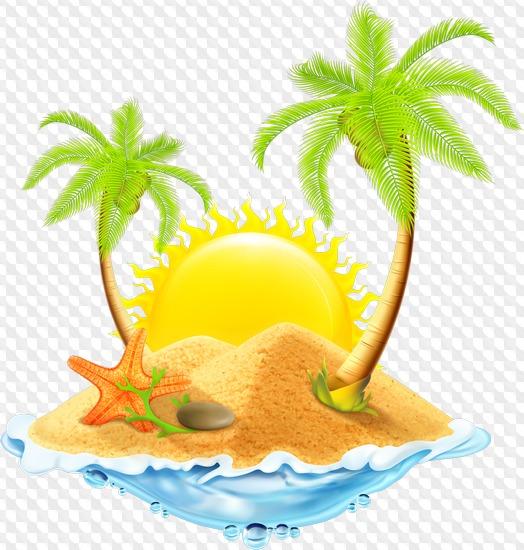 Sea, beach png download.