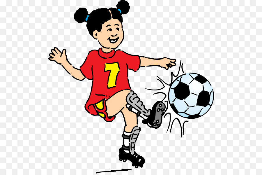 Football Cartoon clipart.