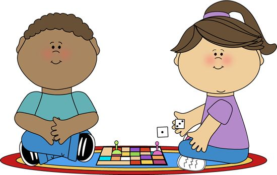 Playing Games Clip Art.