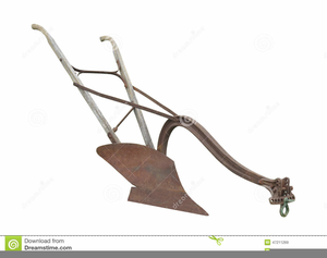 Horse And Plow Clipart.
