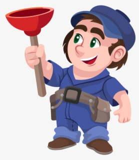 Free Plumber Clip Art with No Background.