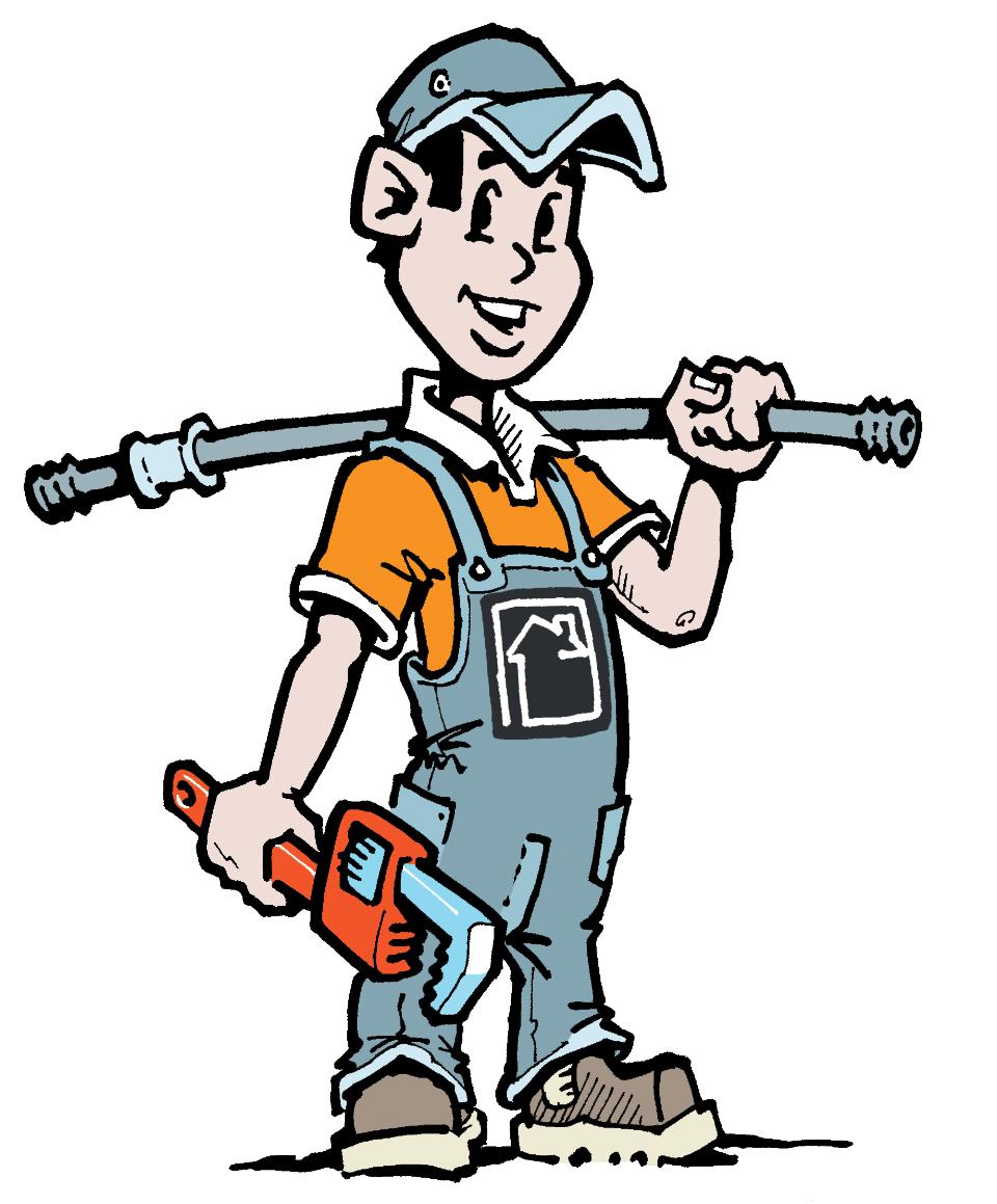 Plumbing Work Clipart.