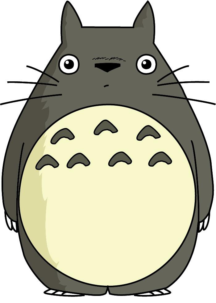 Totoro Plushie.