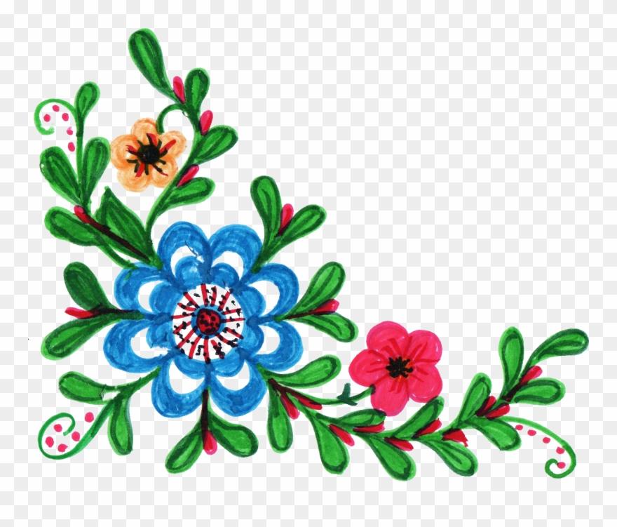 8 Colorful Flower Corner Vol.