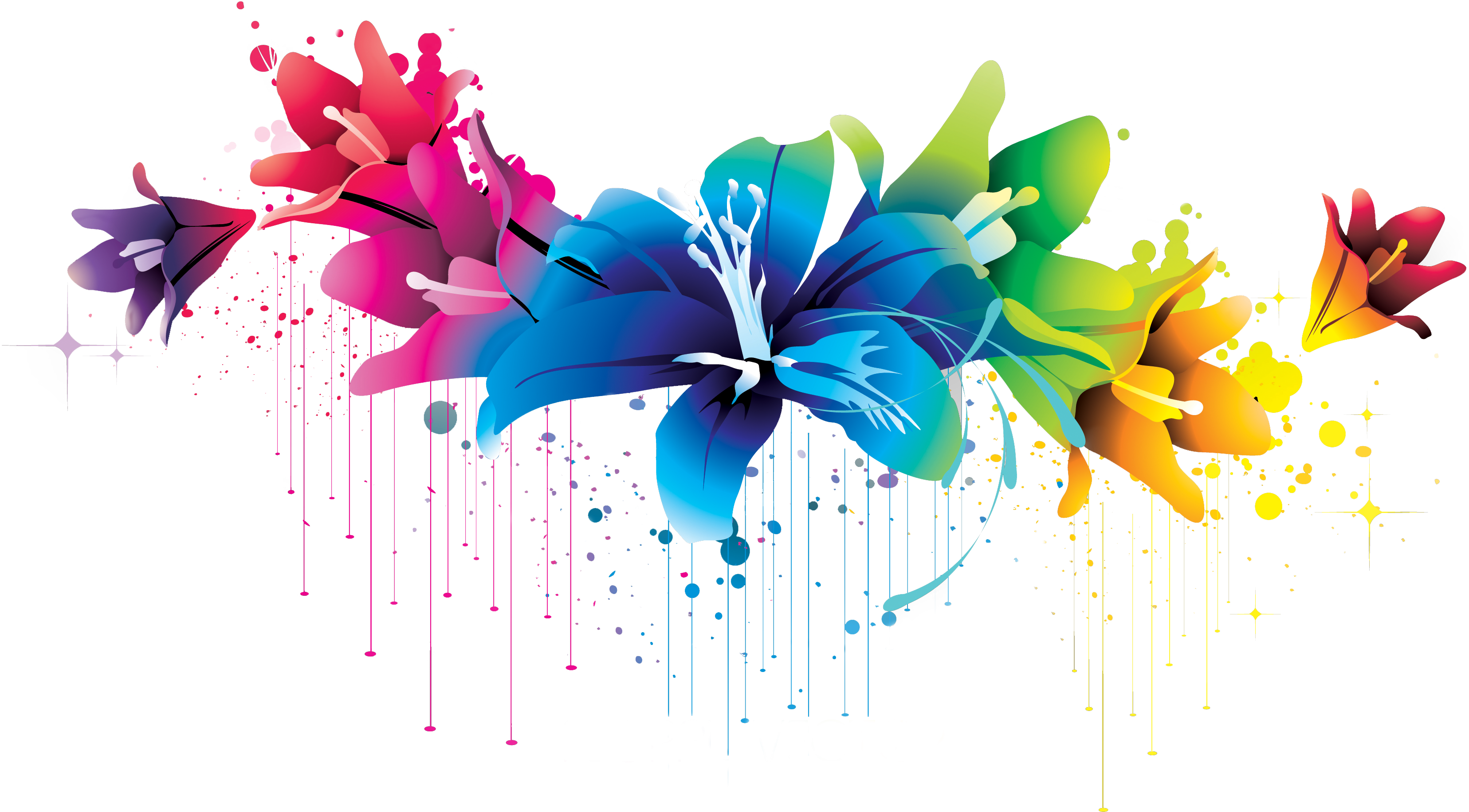 Flowers png clipart #28710.