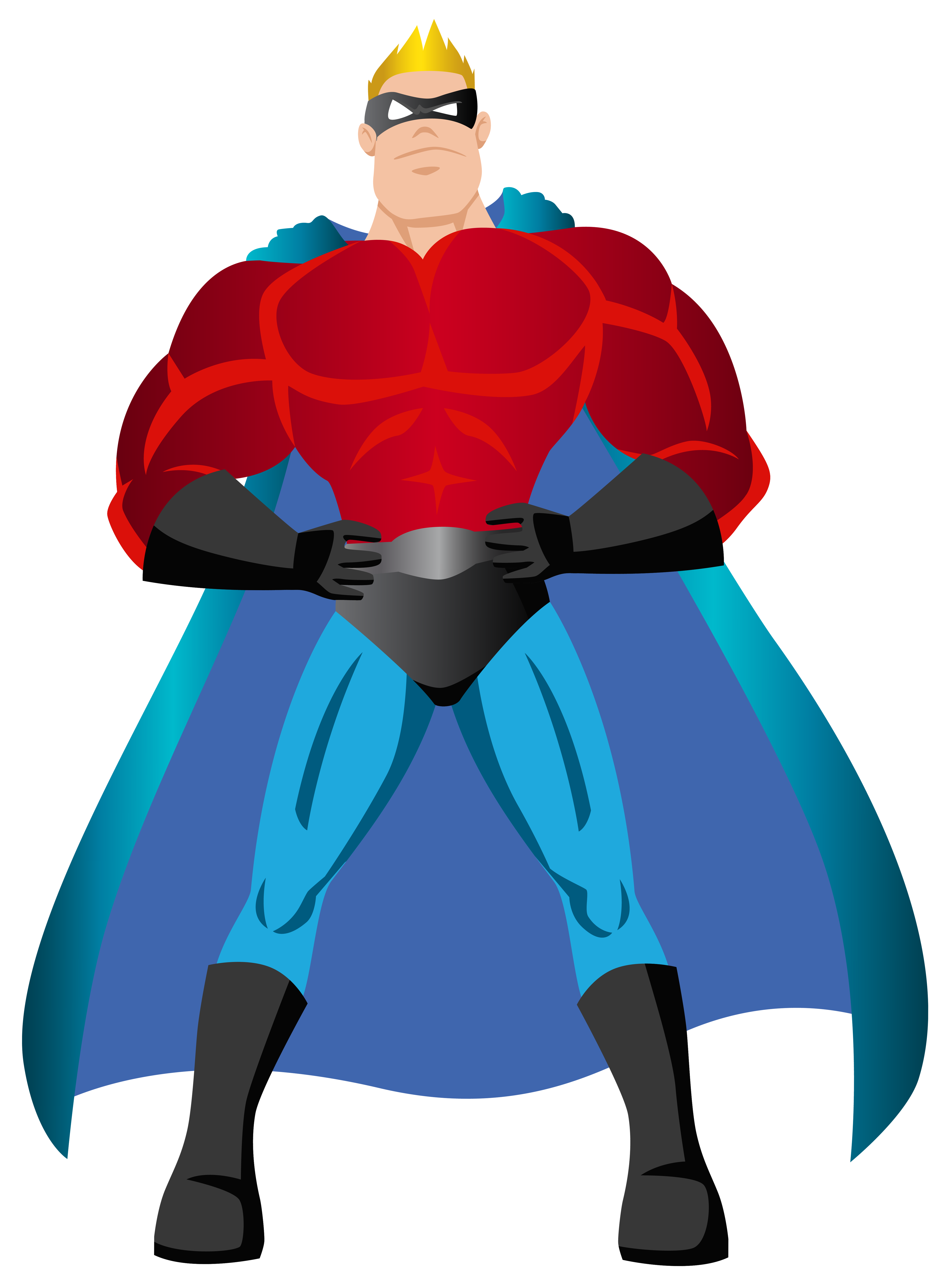 Superhero PNG Clip Art.