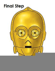 Star Wars C Po Clipart.