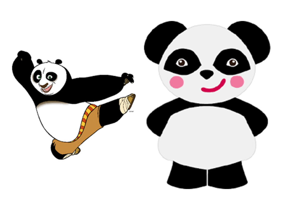 Panda Cartoon clipart.