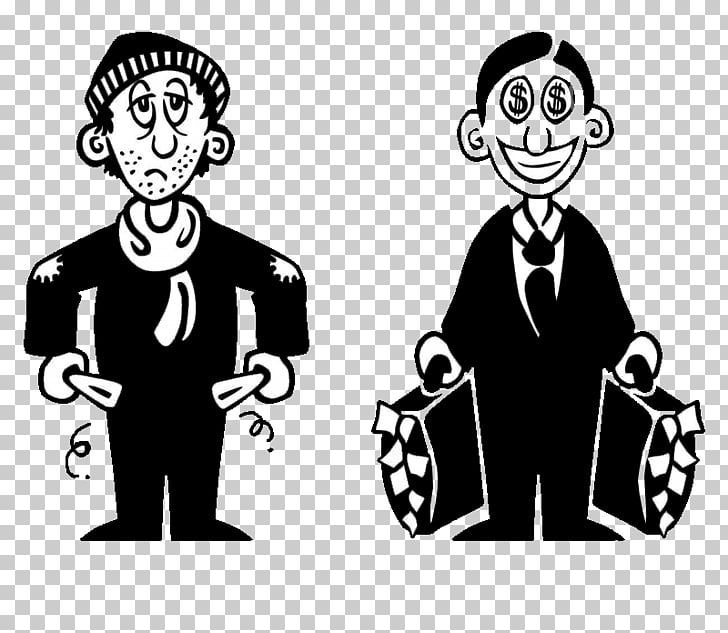 Poverty Wealth , tristes PNG clipart.