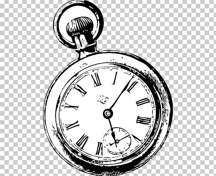 Pocket Watch Clock PNG, Clipart, Antique, Black And White.