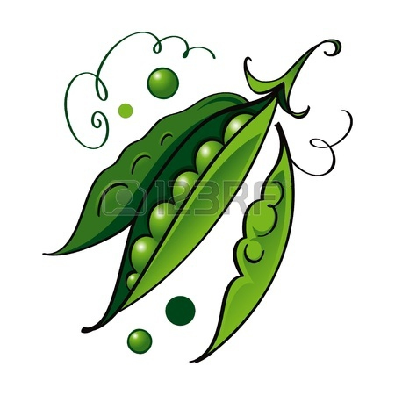 Peas clipart pod, Peas pod Transparent FREE for download on.