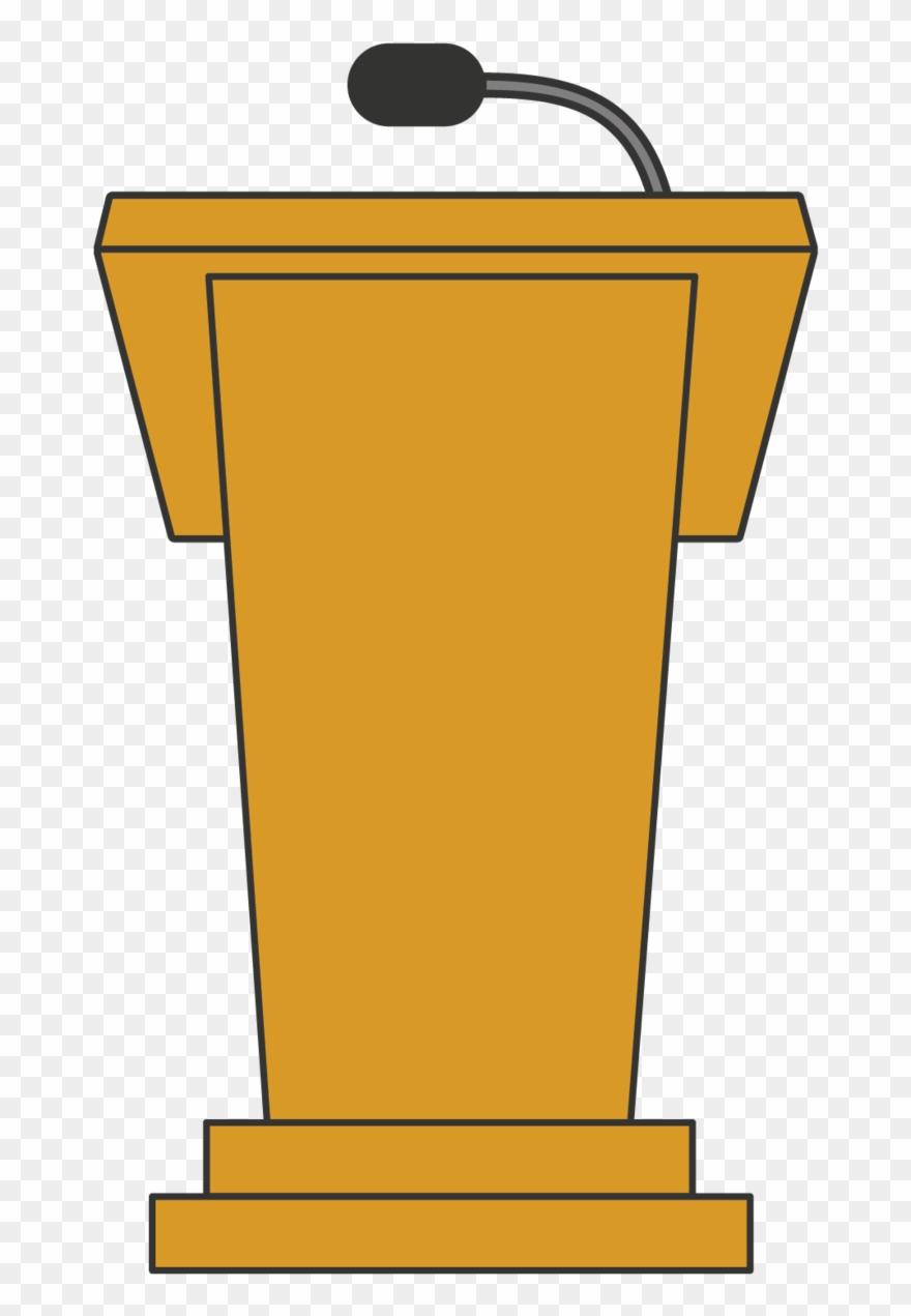 Podium Clipart Lectern.