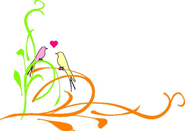 Love Birds Dini Poento Clip Art at Clker.com.