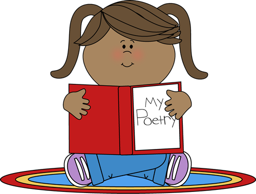 Poetry Book Clipart.