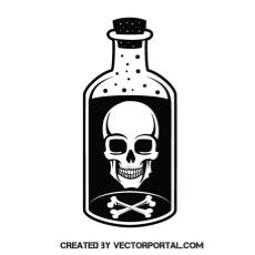 poison bottle vector free free vectors.